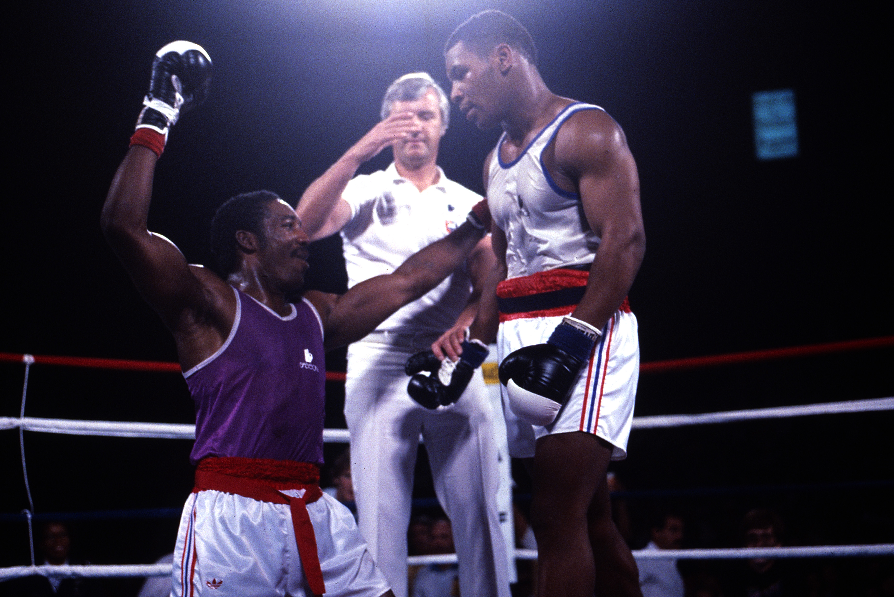 Mike Tyson at 1984 Summer Olympics