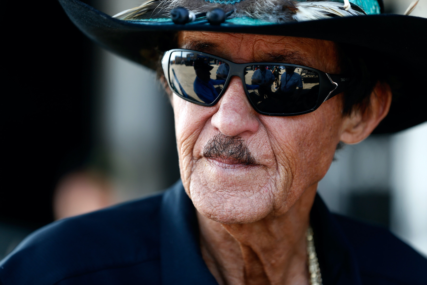 NASCAR Hall of Famer and team owner Richard Petty in 2017