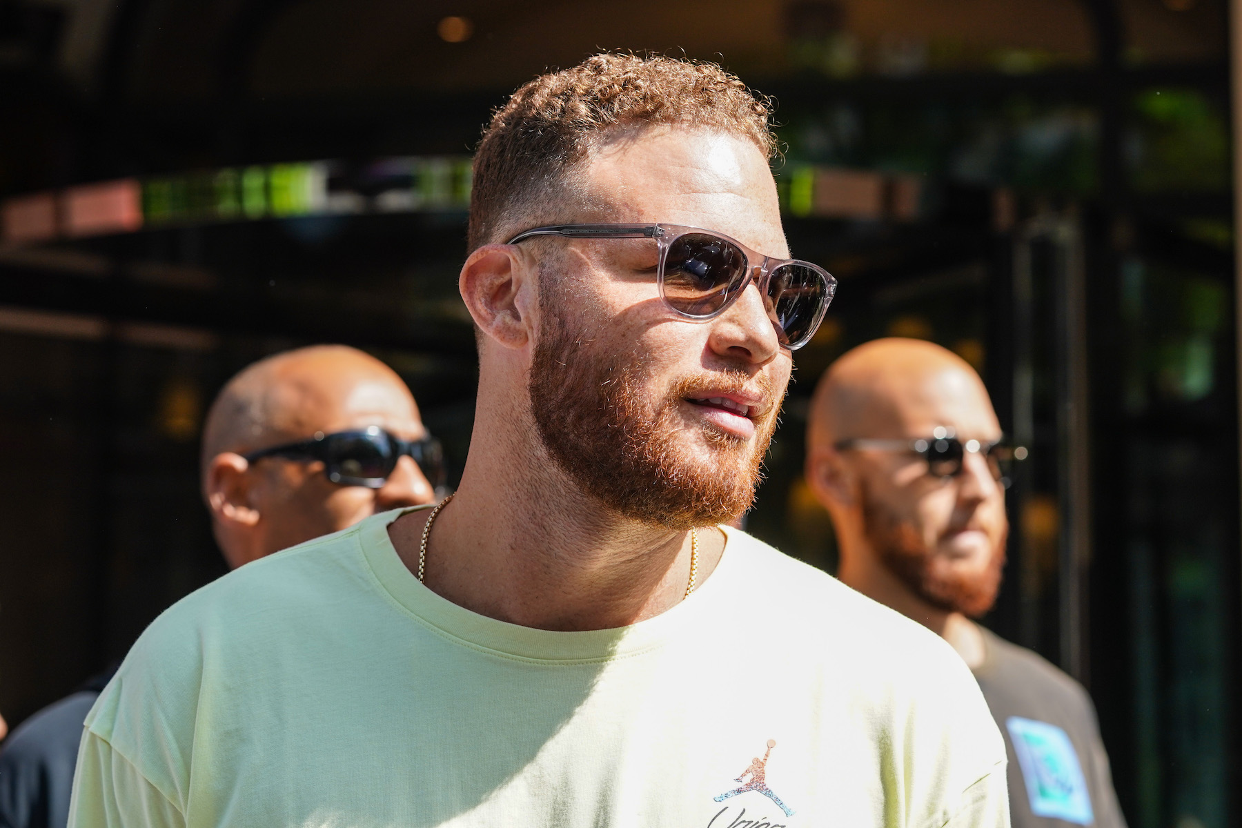 NBA player Blake Griffin in 2020