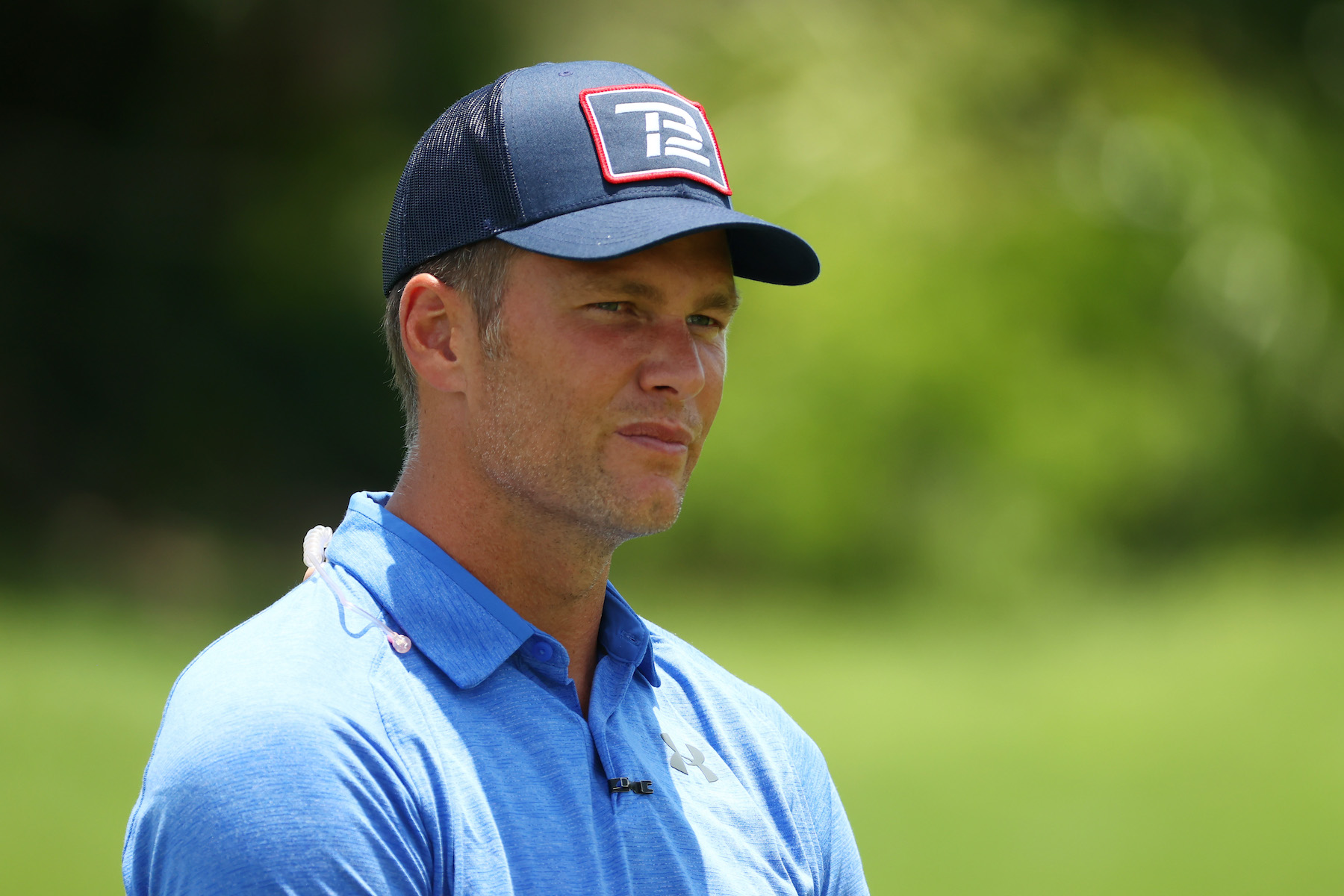 NFL player Tom Brady of the Tampa Bay Buccaneers