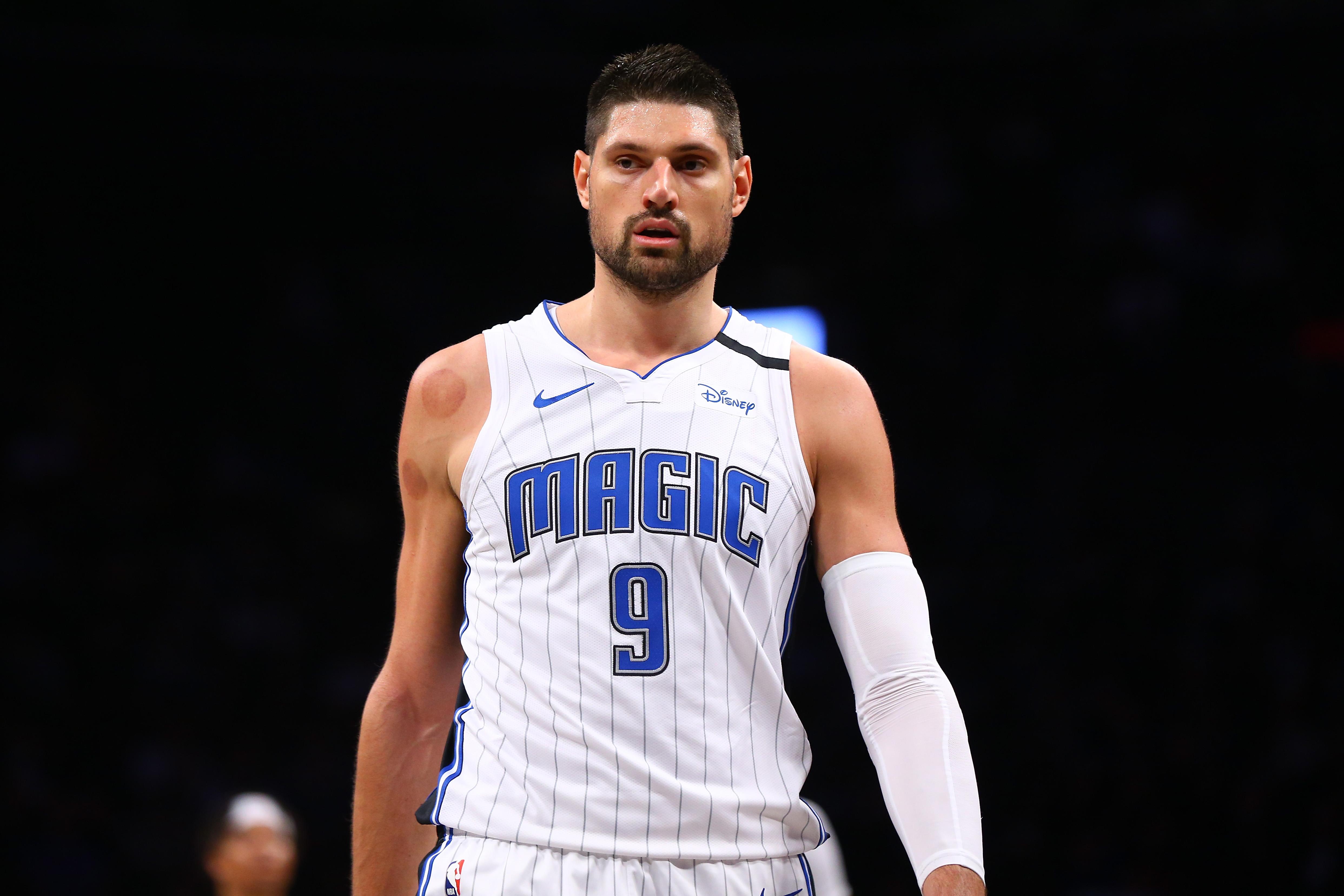 Orlando Magic's Nikola Vucevic