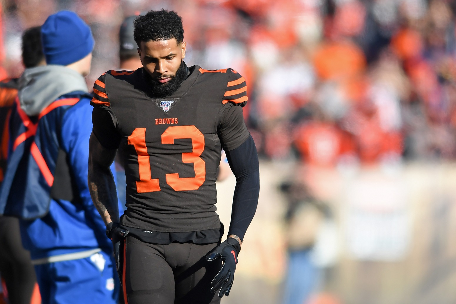 Browns wide receiver Odell Beckham jr.