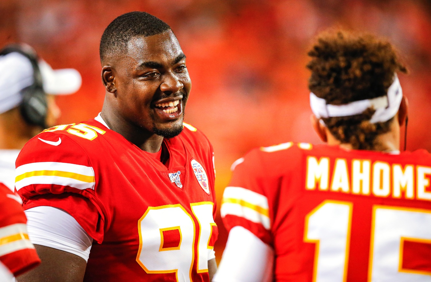 Patrick Mahomes and Chris Jones are stars for the Chiefs.