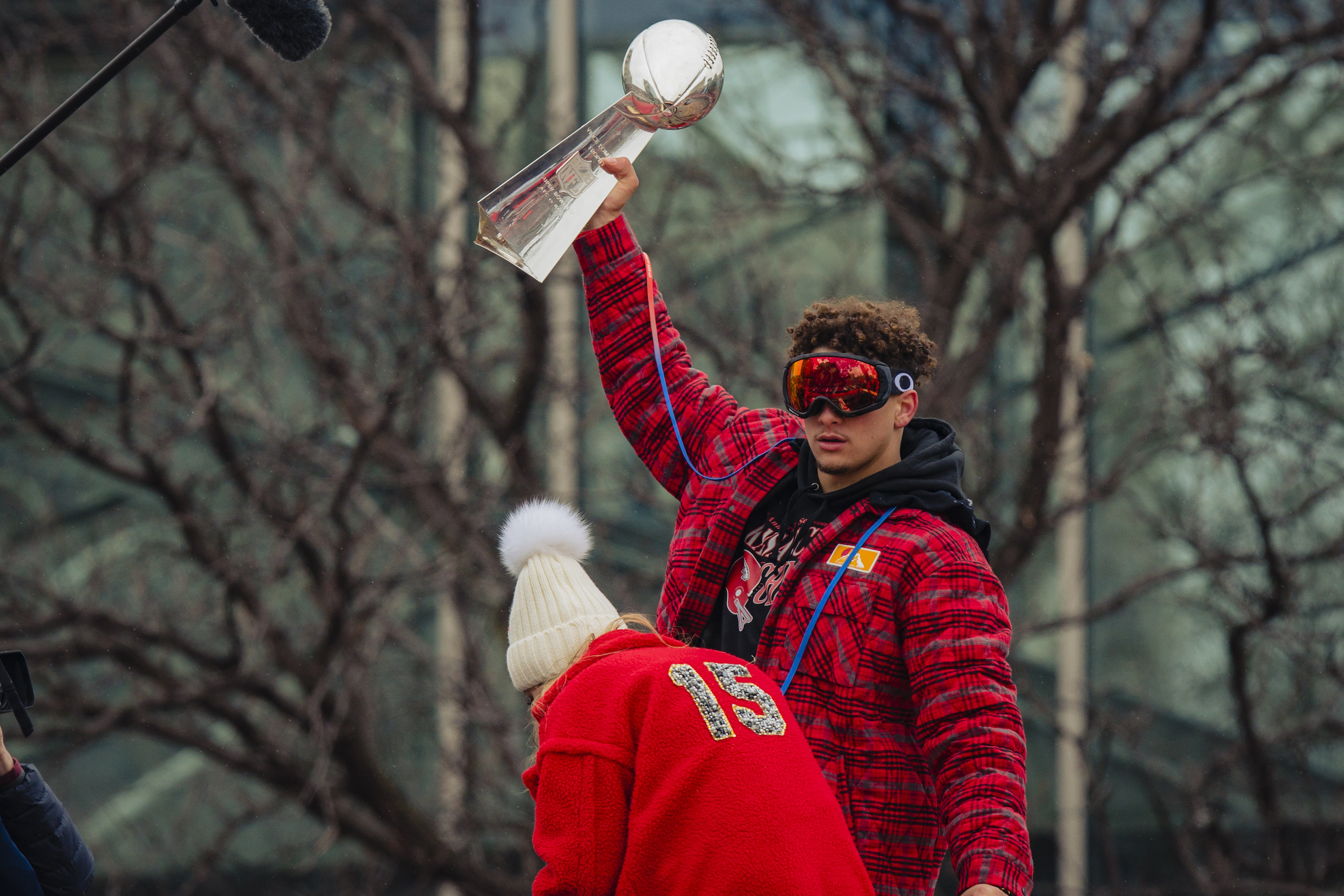 Kansas City Chiefs quarterback Patrick Mahomes is a force both on the football field and the beer pong table.