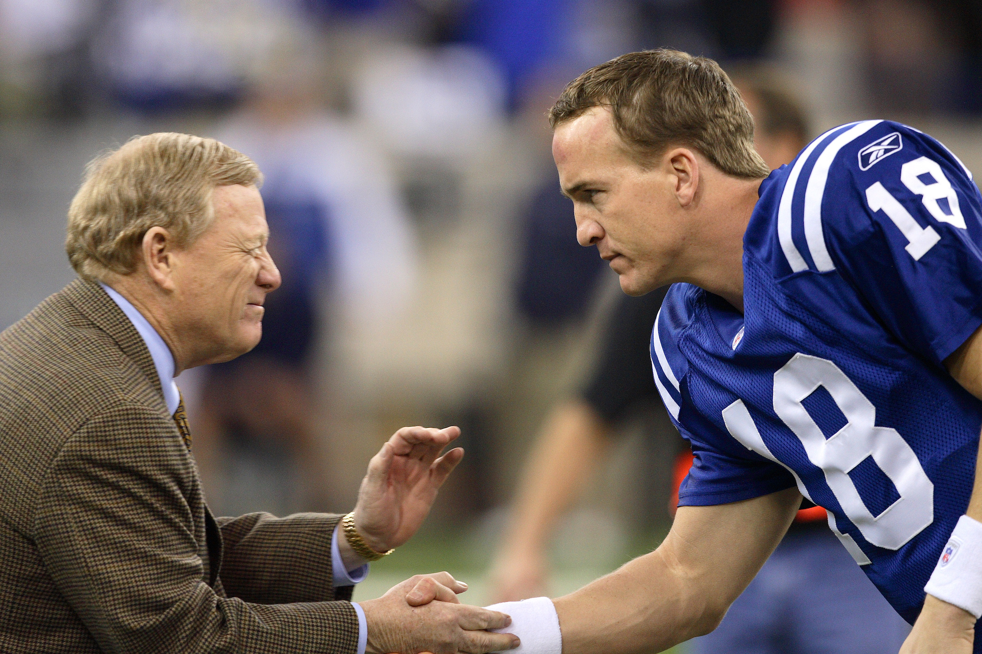 Before the 1998 NFL draft, Peyton Manning gave Bill Polian and the Indianapolis Colts a stern warning.