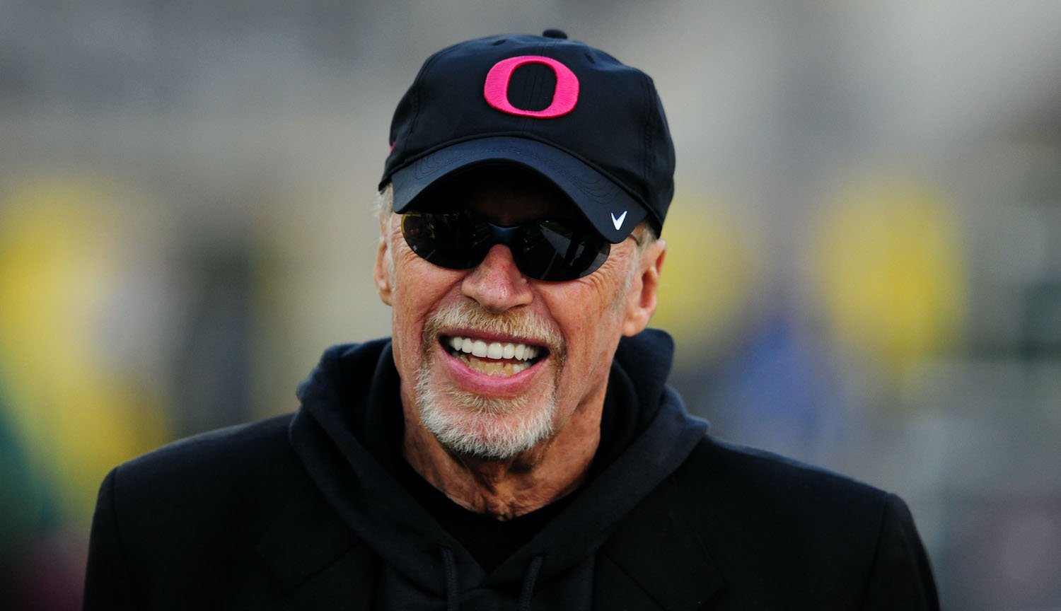 Phil Knight sold running shoes out of the trunk of his car before founding Nike and building an enormous net worth.