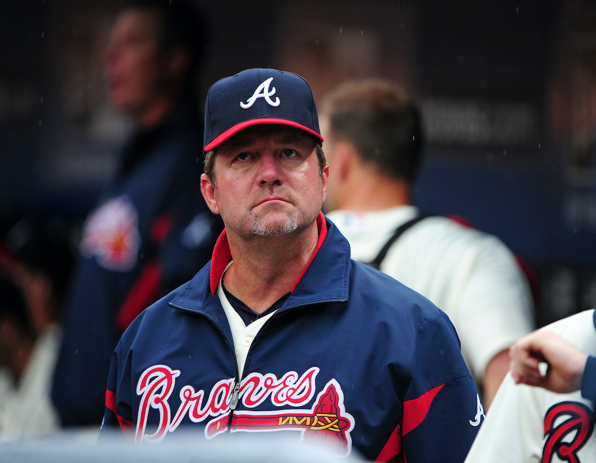 Atlanta Braves Pitching Coach Roger McDowell