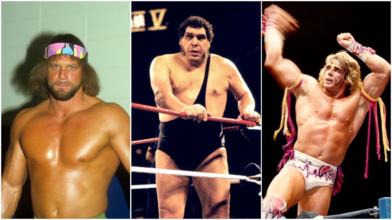 Randy Savage Andre the Giant The Ultimate Warrior