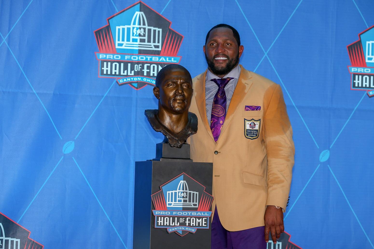 Former Ravens linebacker Ray Lewis