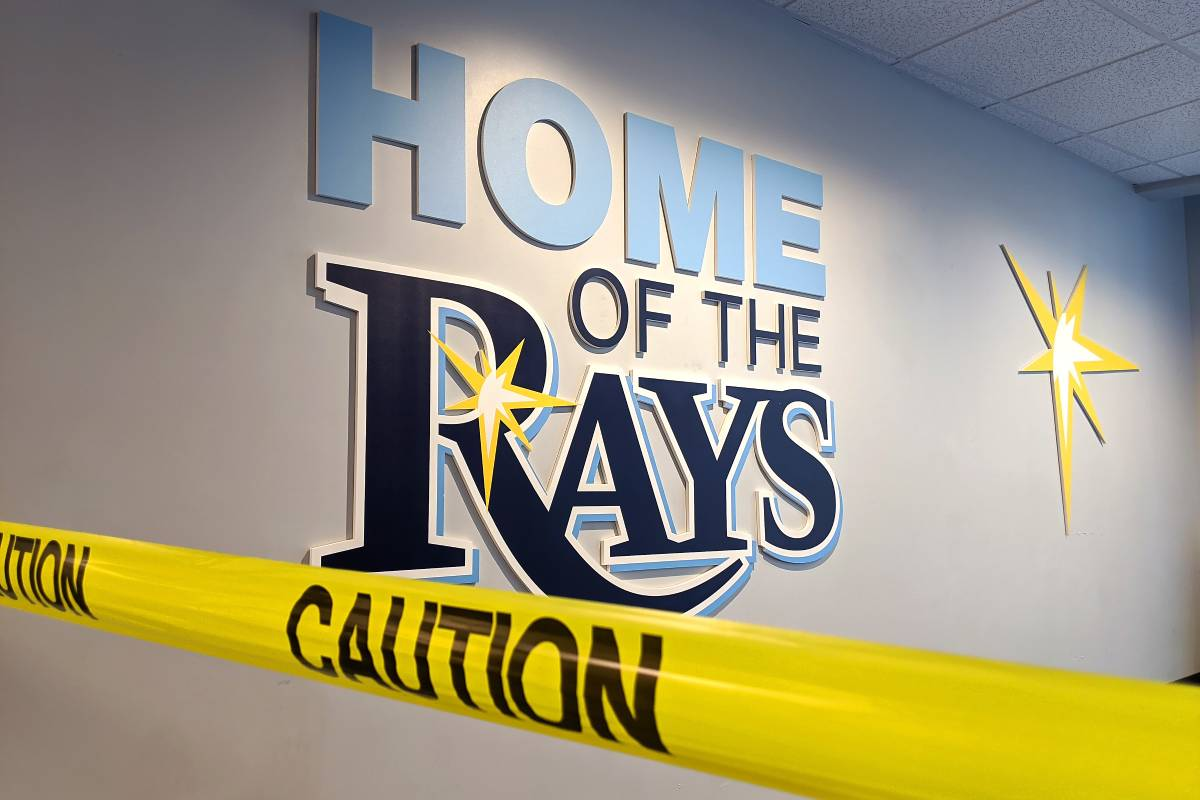 The Tampa Bay Rays upset local police after a controversial tweet.