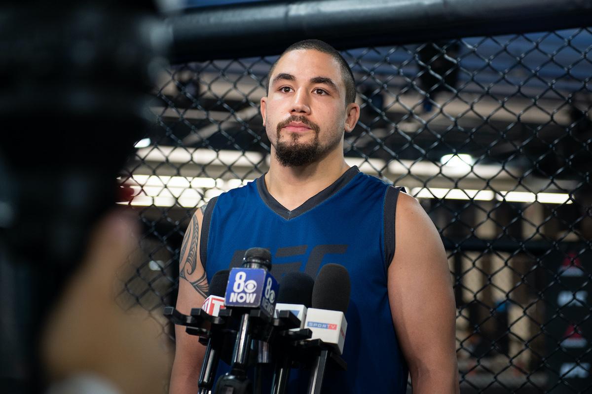 UFC fighter Robert Whittaker