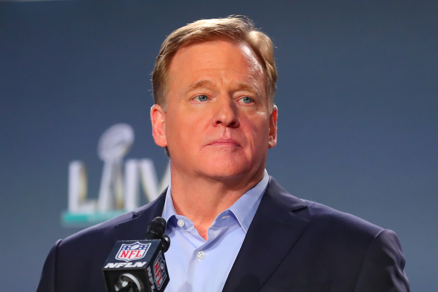 "Roger Goodell's open letter never said there would be a ""full season"" of football this year."
