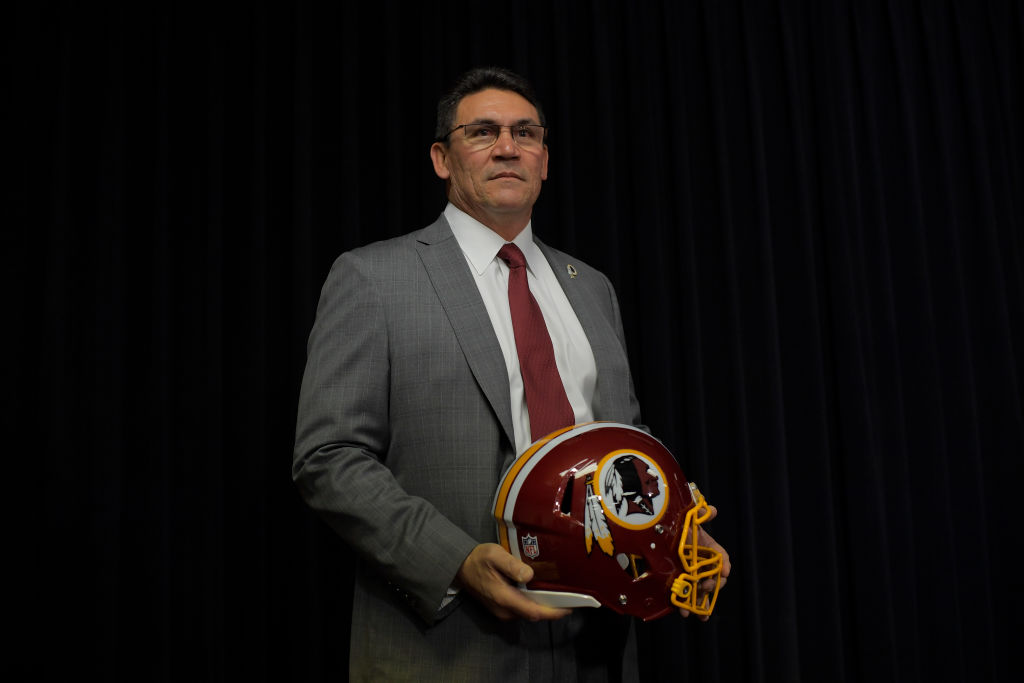 Ron Rivera is introduced as the Washington Redskins new head coach