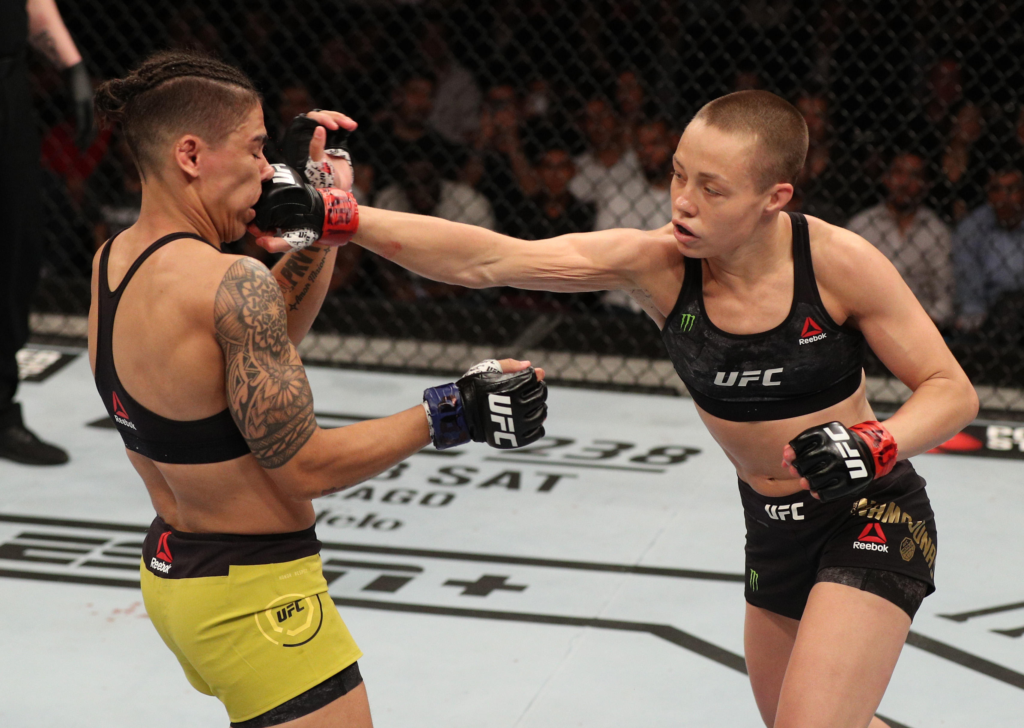 Rose Namajunas Overcoming Tragic Deaths of Family Members from COVID-19