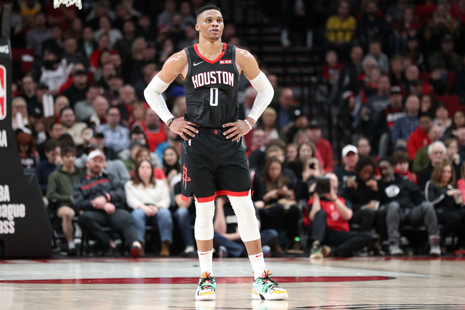 Russell Westbrook and the Houston Rockets will soon take the court again. Westbrook now has a big reason to want to dominate in the bubble.