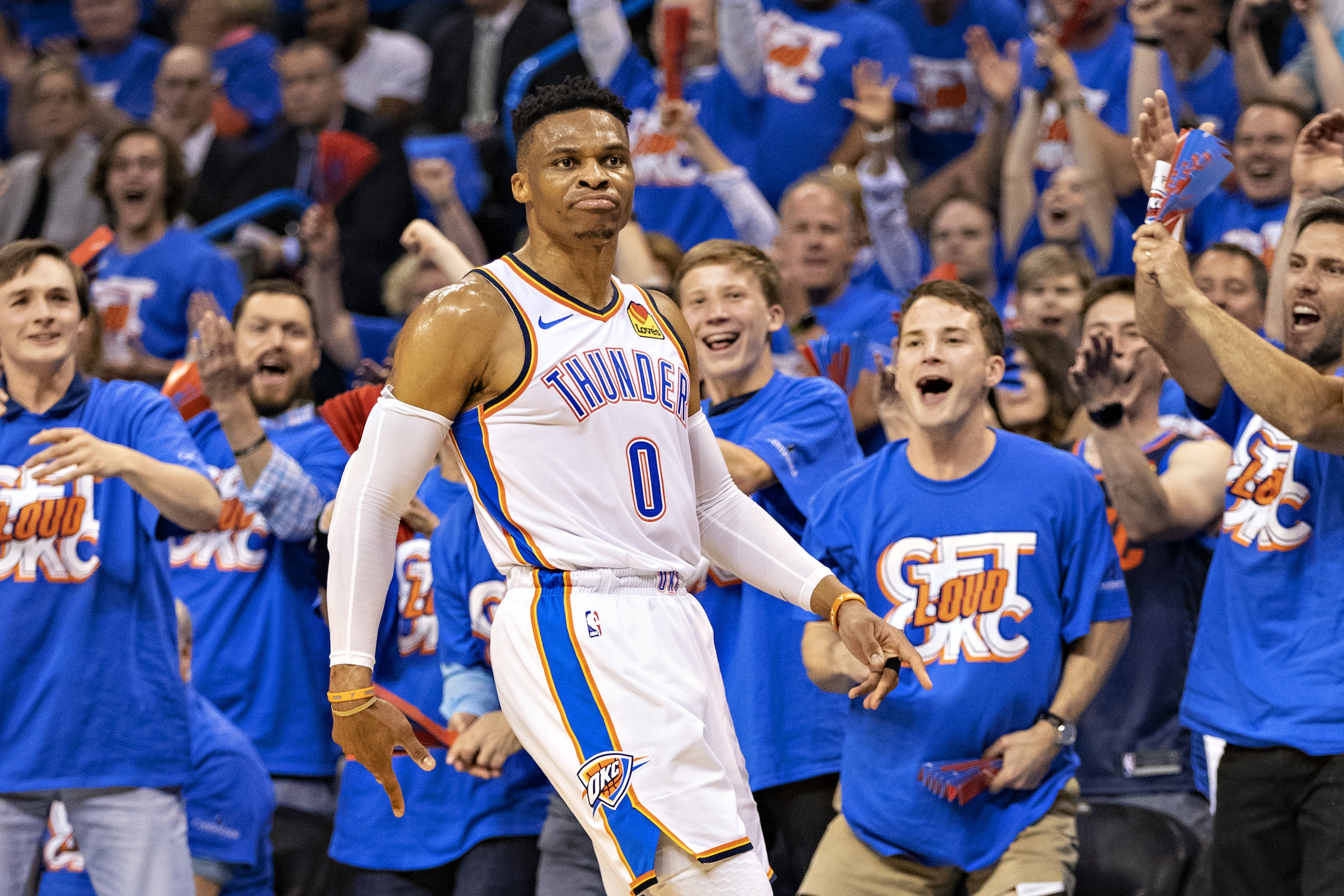 A nap helped Russell Westbrook earn a place on the Oklahoma City Thunder.