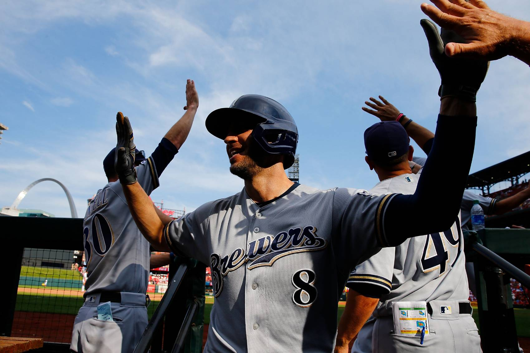 Milwaukee Brewers veteran Ryan Braun is closing in on 350 home runs in the majors.