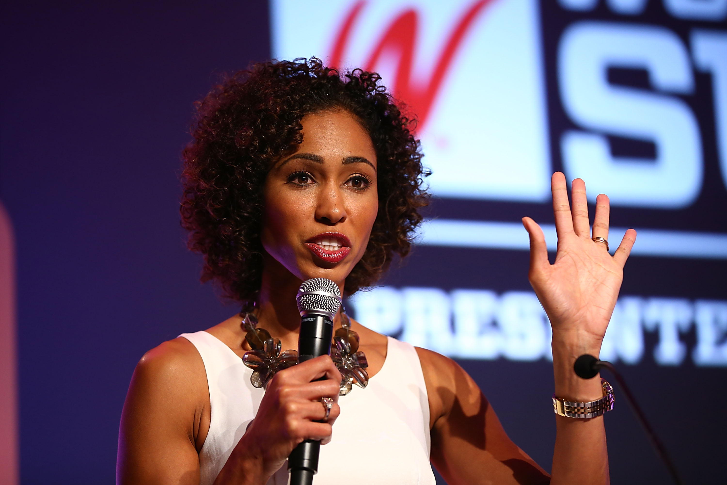 ESPN SportsCenter anchor Sage Steele