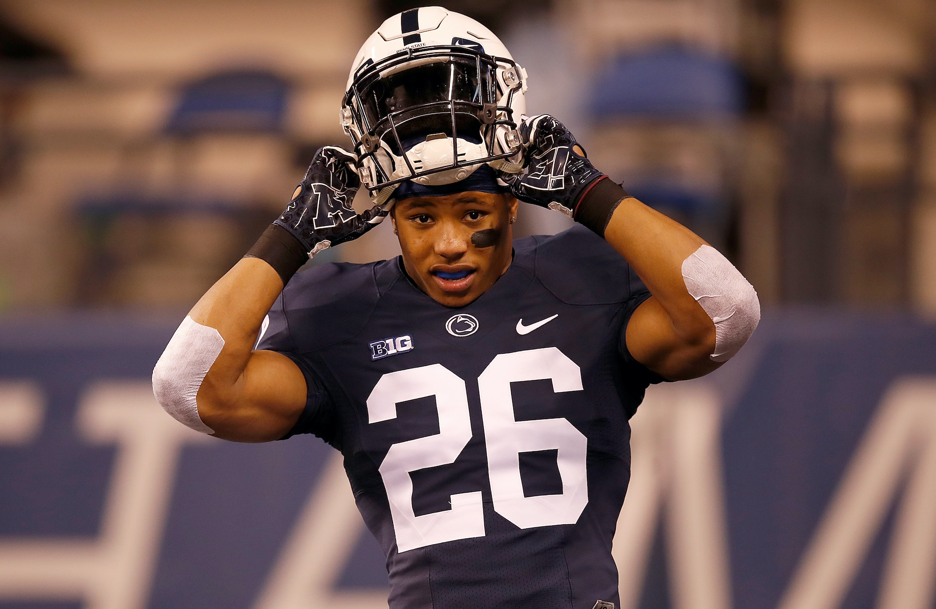 The Hardest Decision Saquon Barkley Has Had to Make: 'I Was Going Against My Word'