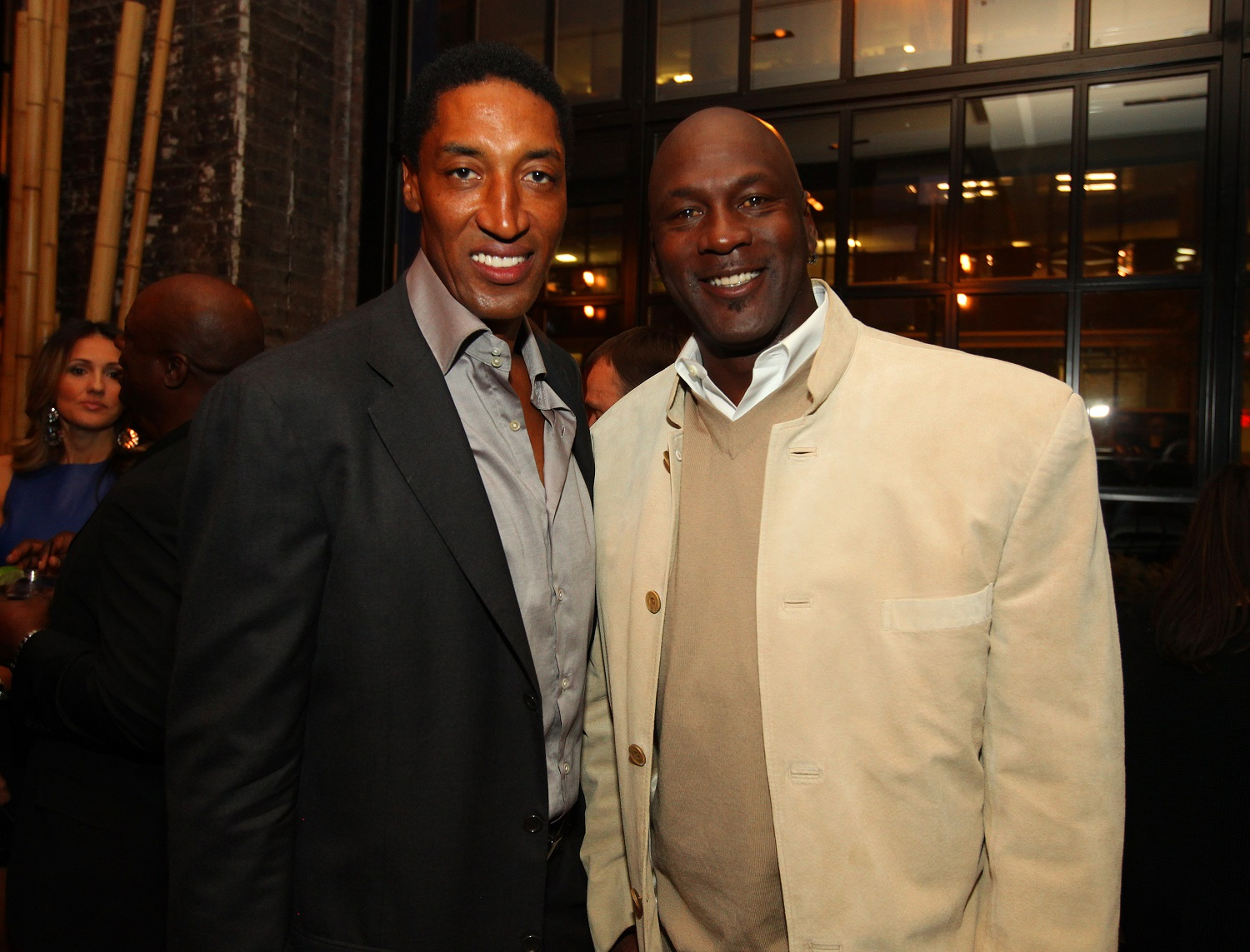 Scottie Pippen Michael Jordan