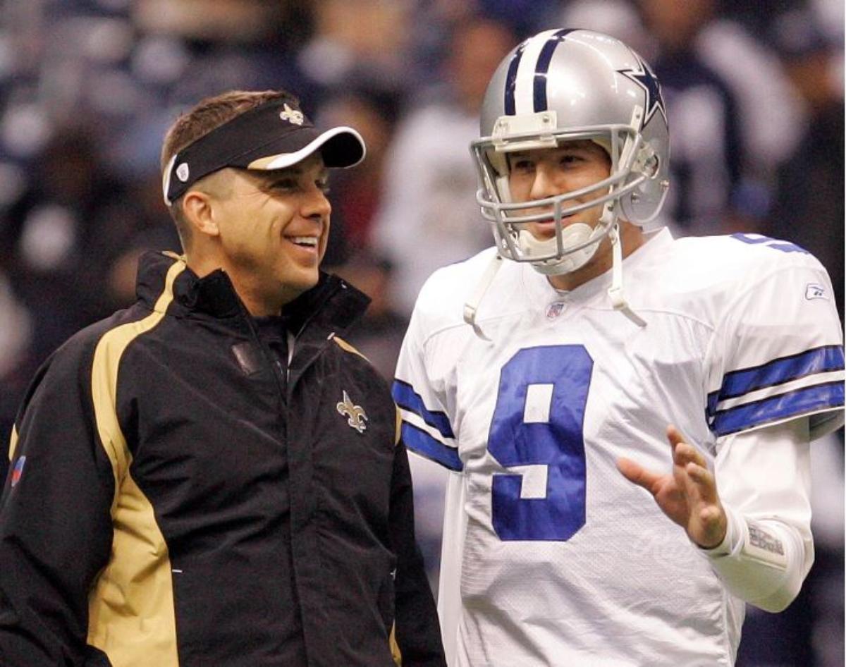Tony Romo Finally Got His Money Sean Payton Owed From Their Cowboys Days