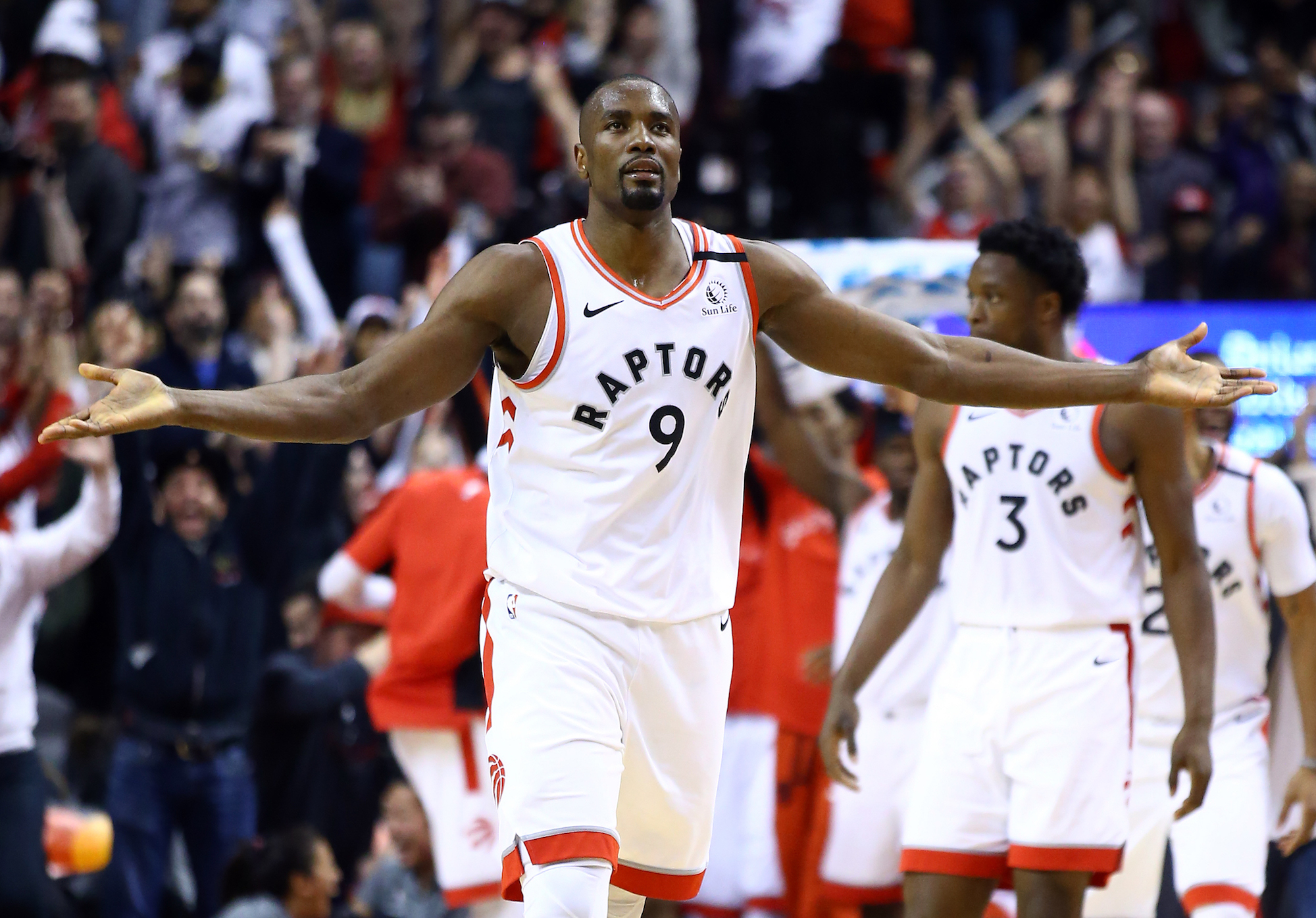 Serge Ibaka overcame a tragic childhood to become an NBA champion.