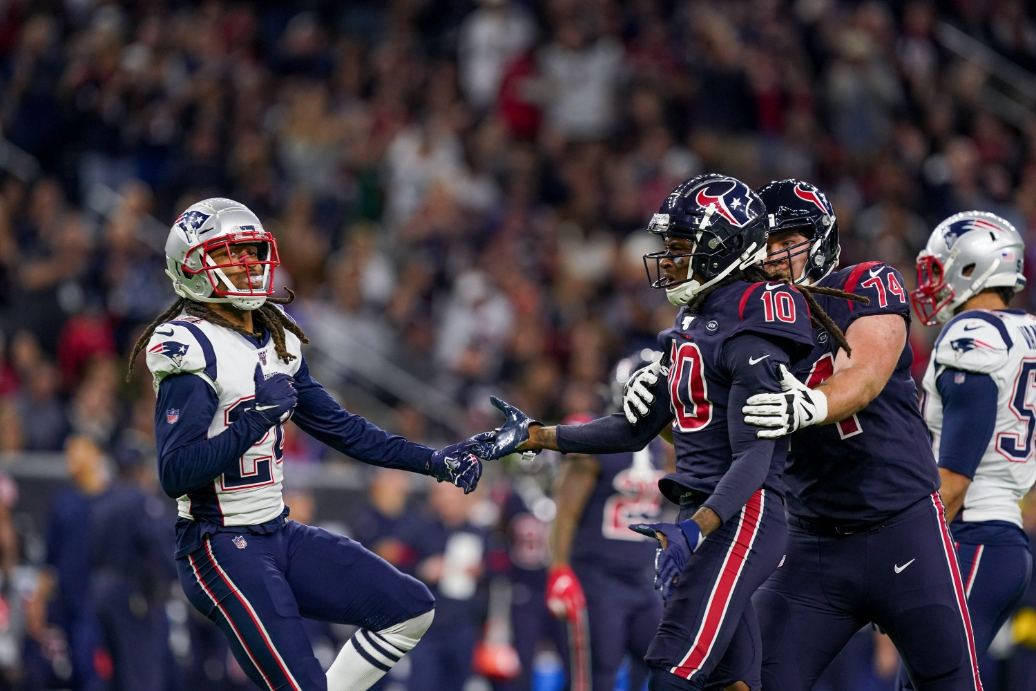 Stephon Gilmore and DeAndre Hopkins have a bitter rivalry.
