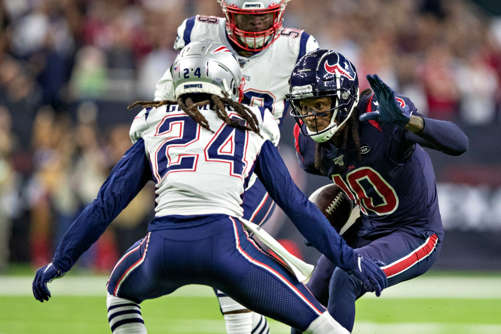 Stephon Gilmore has had intense battles with DeAndre Hopkins.
