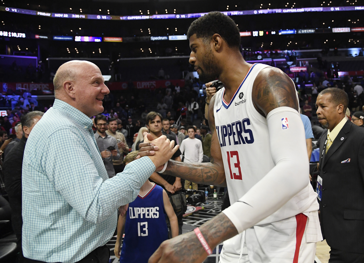 The Los Angeles Clippers have been pretty successful under Steve Ballmer. In fact, Ballmer is paying millions to make the Clippers LA's team.