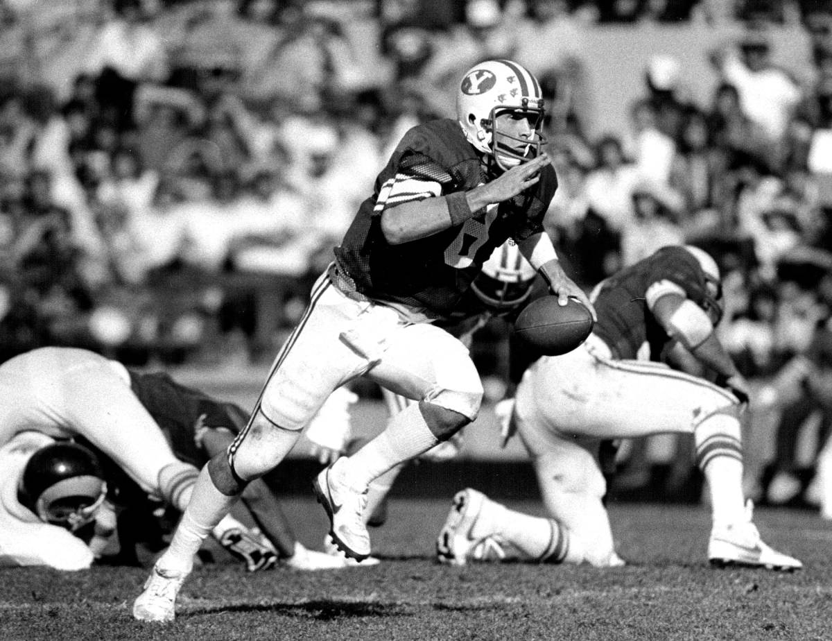 Hall of Fame quarterback Steve Young played college football at BYU.