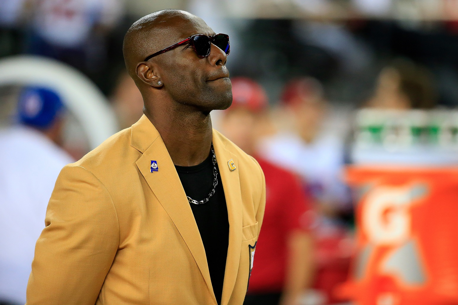 Hall of Fame wide receiver Terrell Owens
