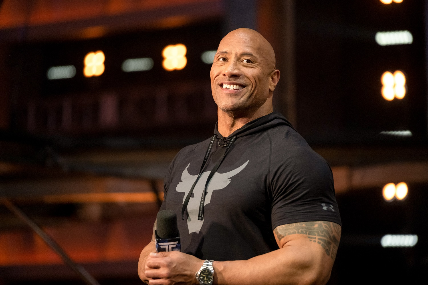 'The Rock' Dwayne Johnson