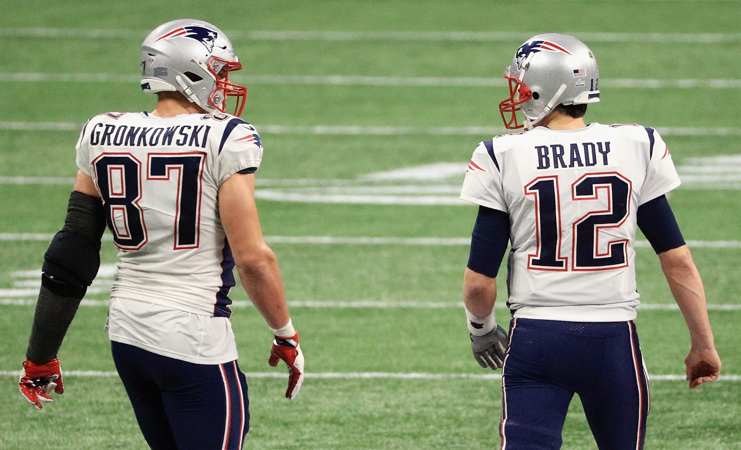Tom Brady and Rob Gronkowski will play for the Buccaneers in 2020.