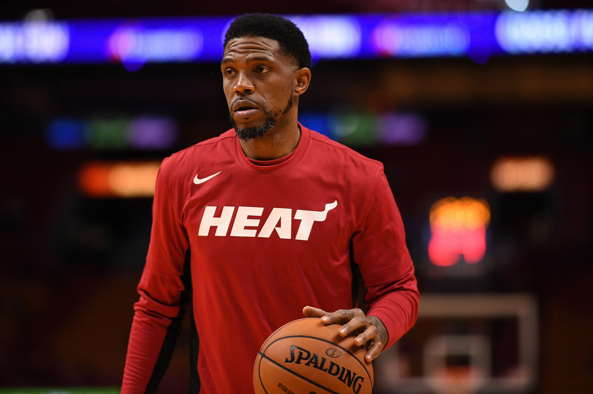 Udonis Haslem has used grit and hard work to earn more than $60 million in the NBA.