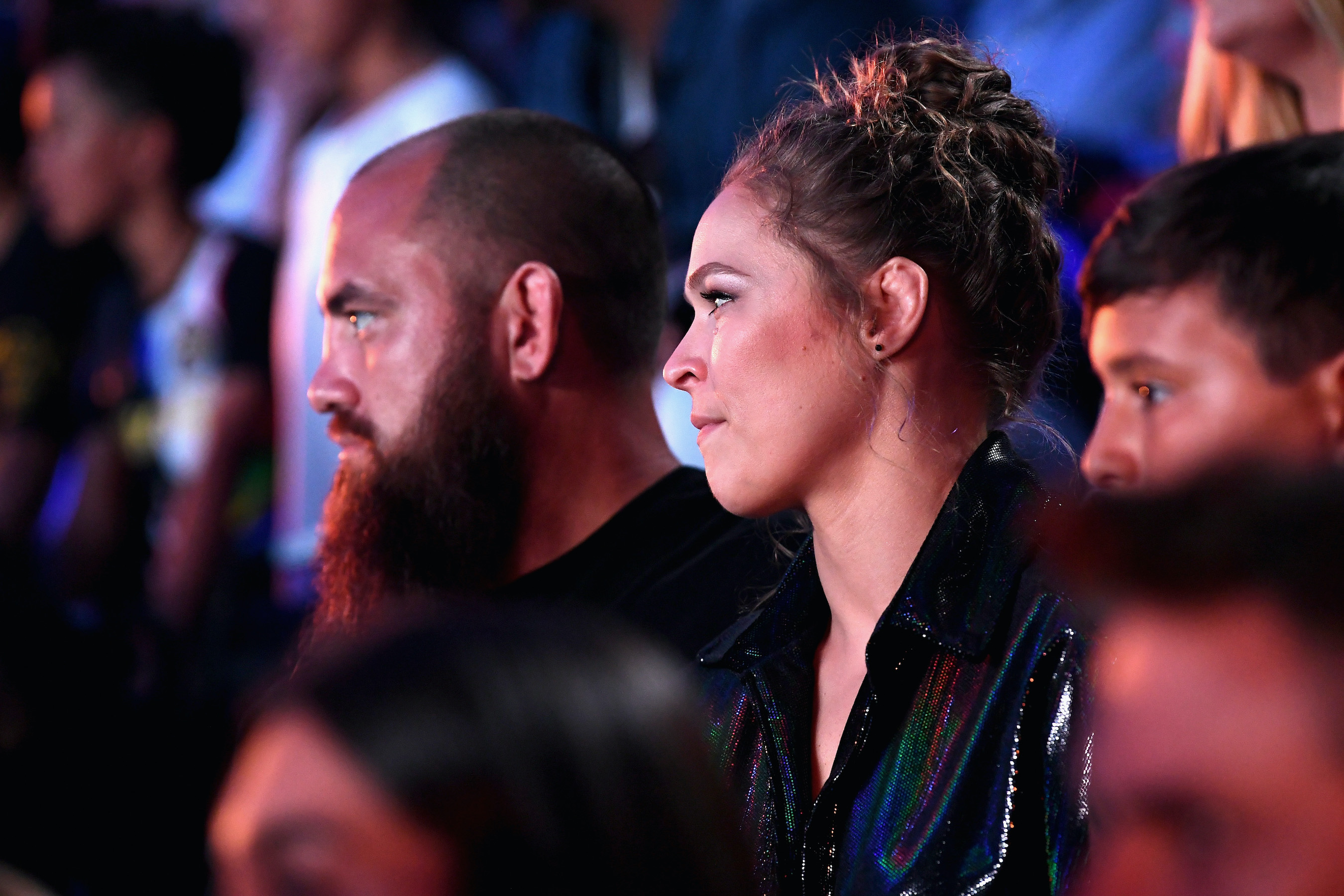 Ronda Rousey at the Nickelodeon Kids' Choice Sports 2018
