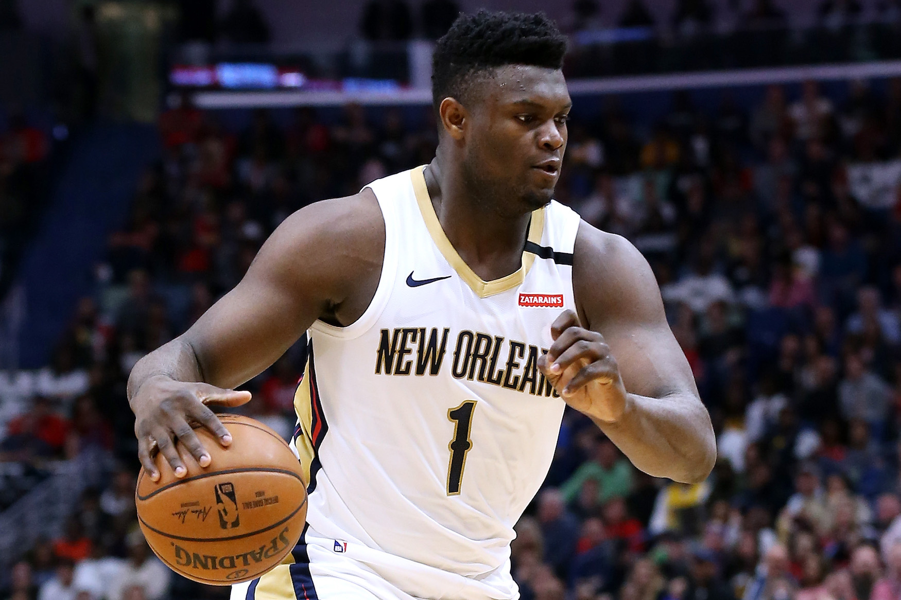 What is Zion Williamson's height, weight, and wingspan?