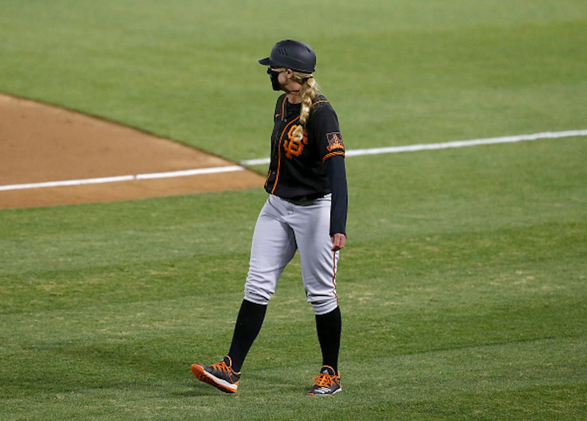 How Alyssa Nakken Made History in the MLB