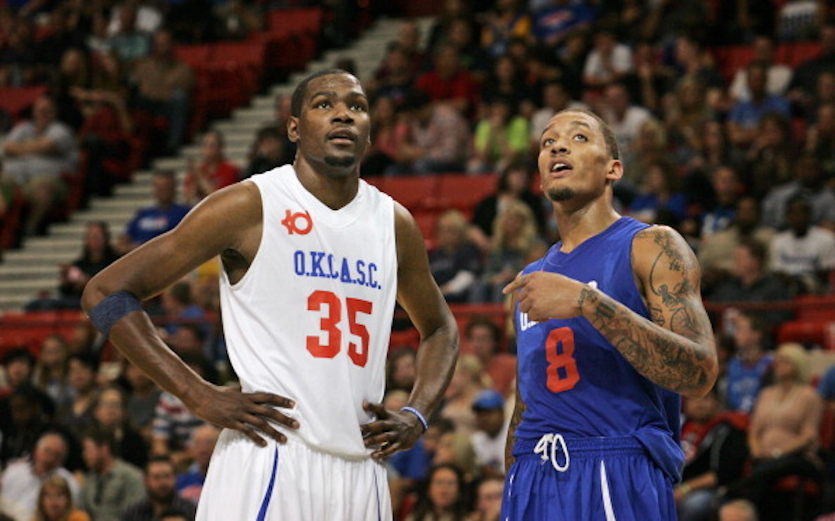 Kevin Durant and Michael Beasley