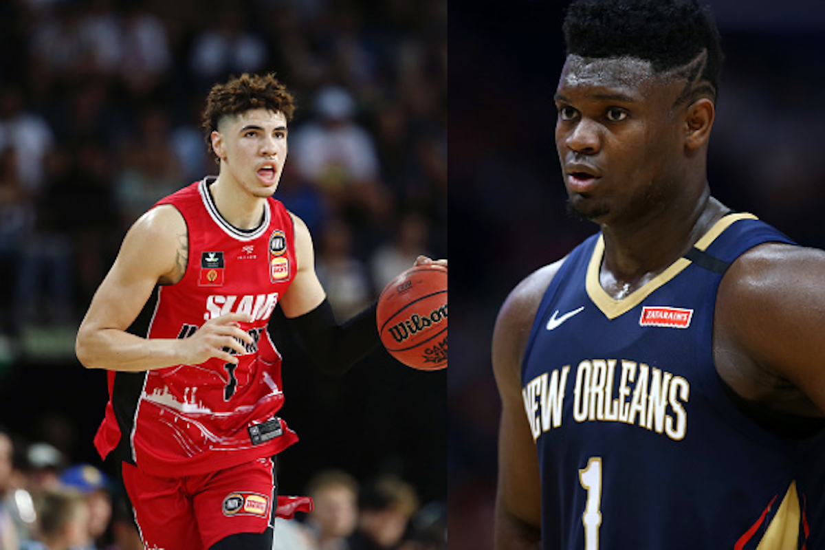 Zion Williamson and LaMelo Ball Battled on the Court in One of the Most Highly Anticipated Basketball Games in AAU