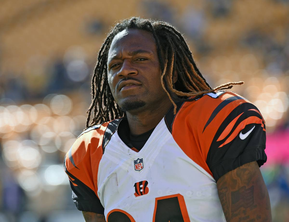 Former Bengals cornerback Adam 'Pacman' Jones got closely acquainted with the Pittsburgh Steelers.
