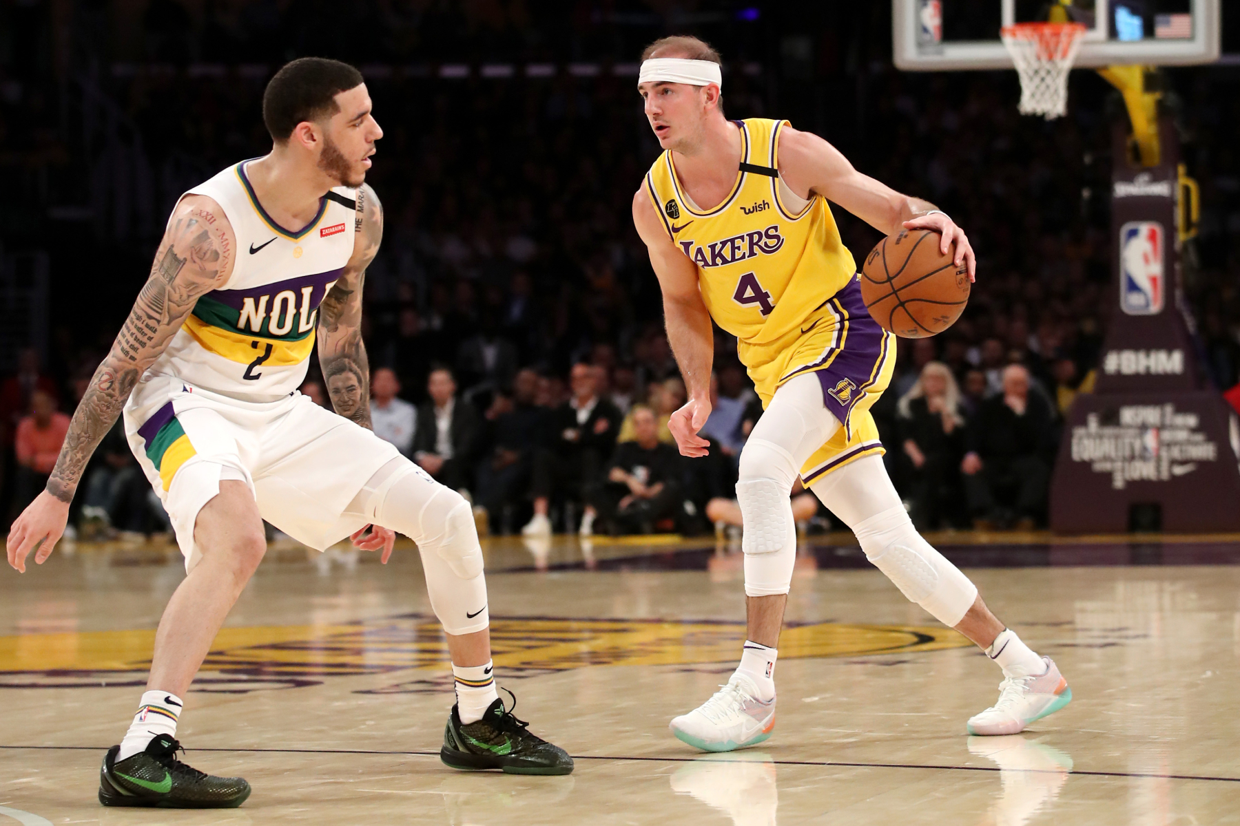 Alex Caruso has become an essential piece on the LA Lakers. So, before he became an NBA star, what college team did Caruso play on?