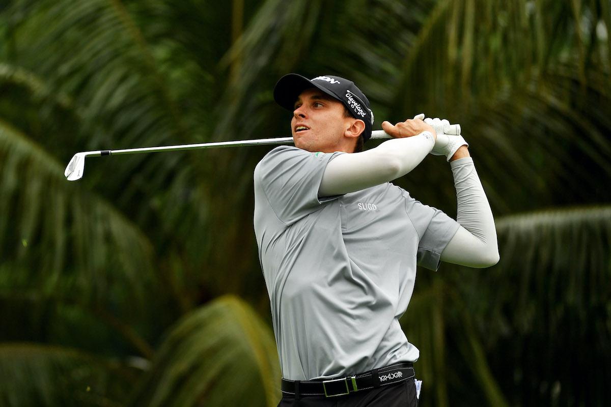 Golfer John Catlin