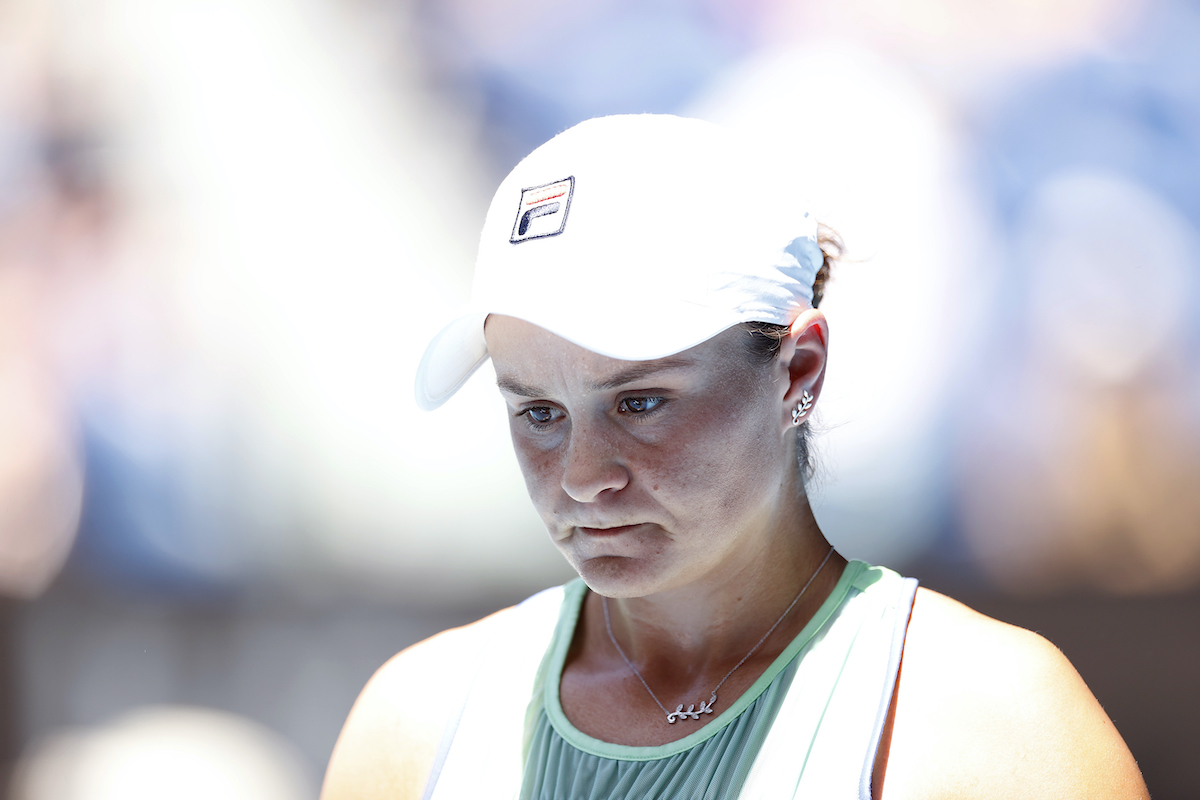 Tennis player Ash Barty