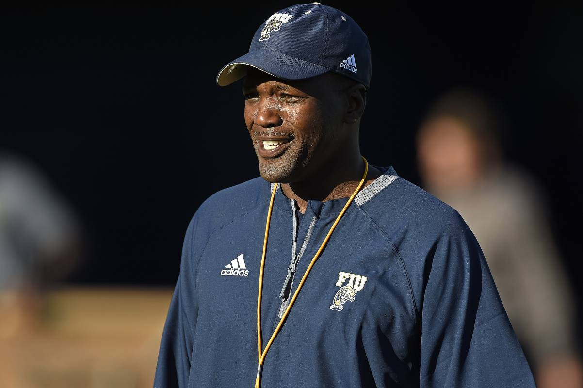 Florida International receivers coach Aubrey Hill passed away at age 48 after battling cancer.