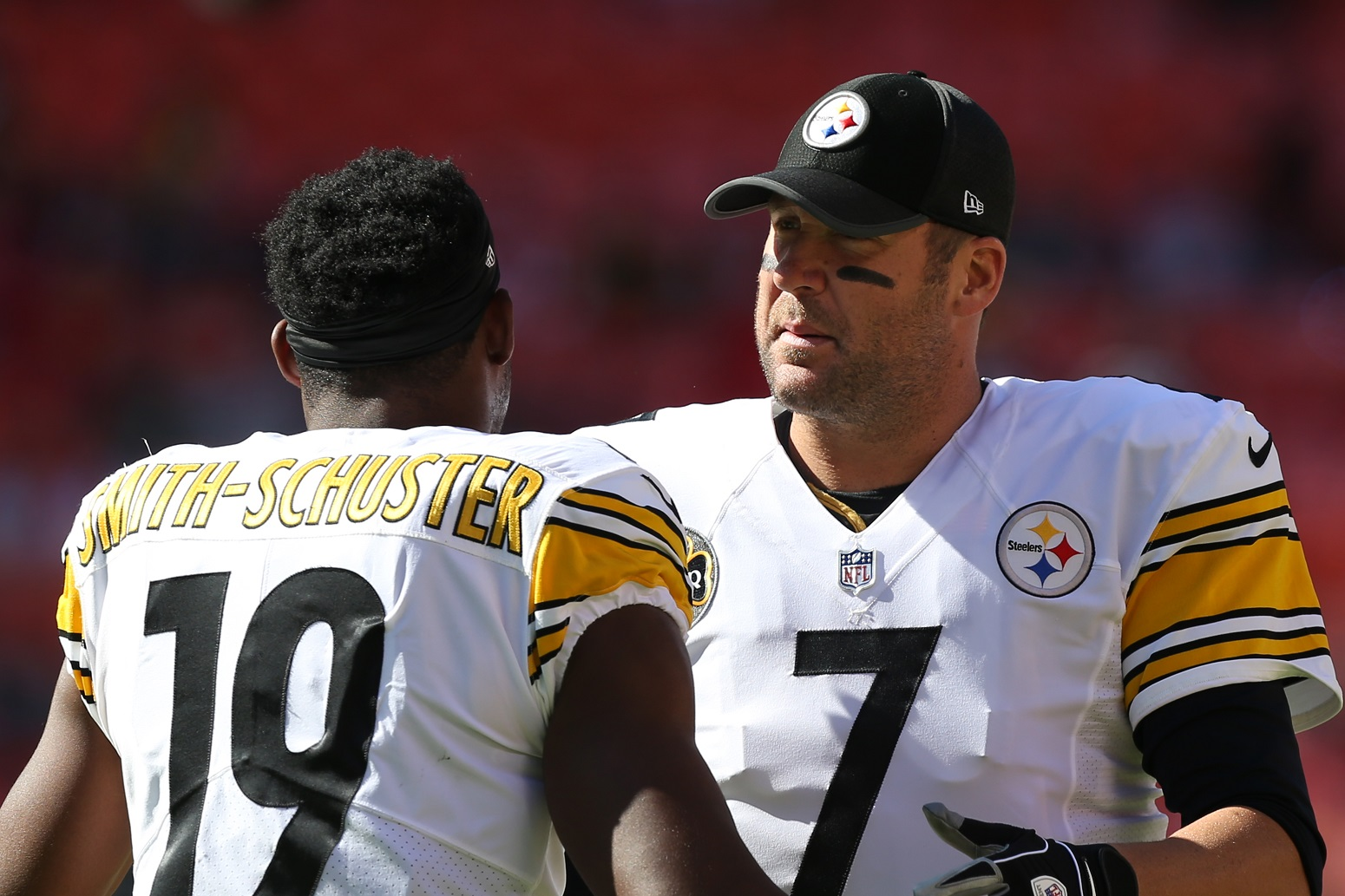Ben Roethlisberger JuJu Smith-Schuster