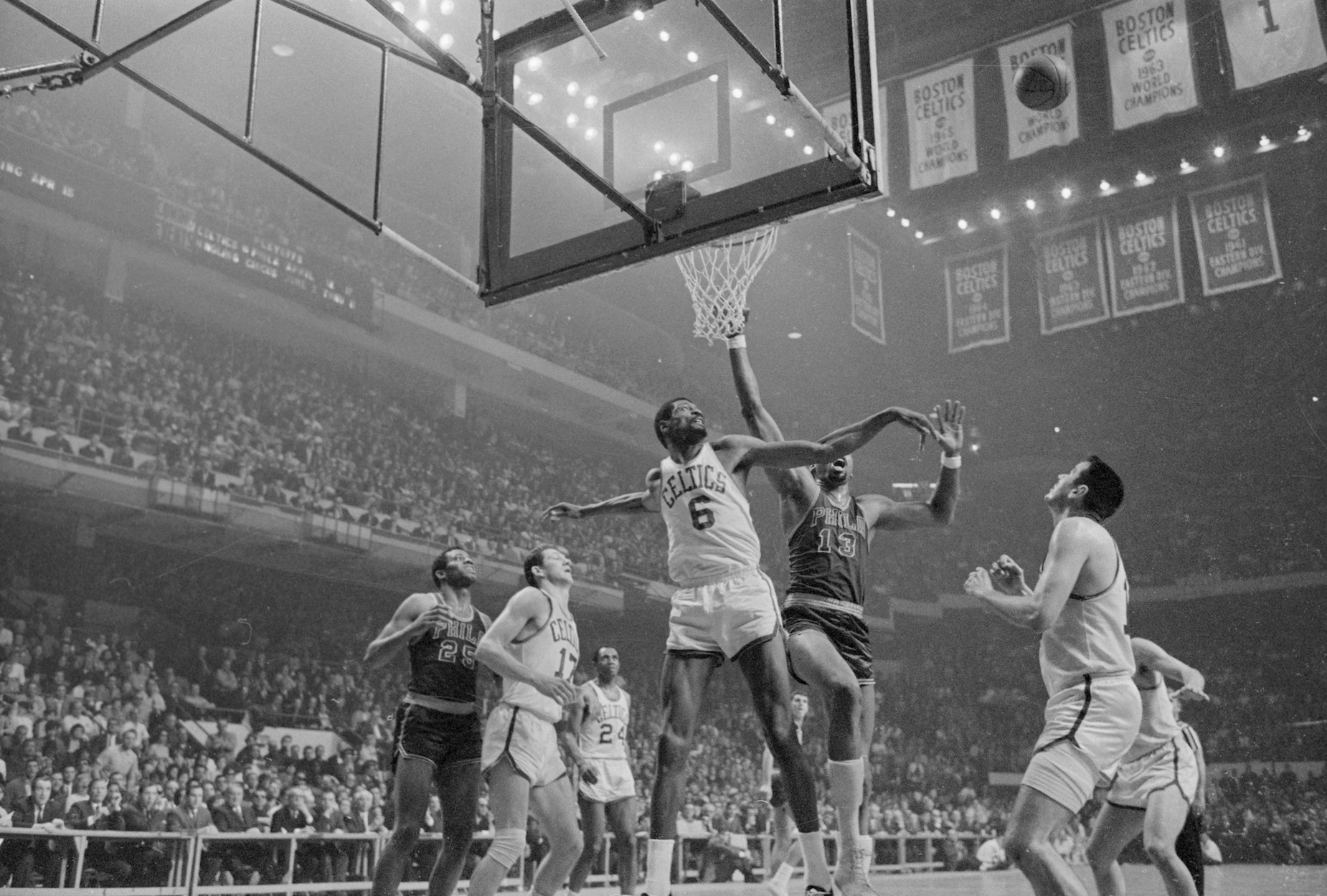 While plenty of people believe that Bill Russell is the greatest defender in NBA history, his stats may have been even more impressive than you think.