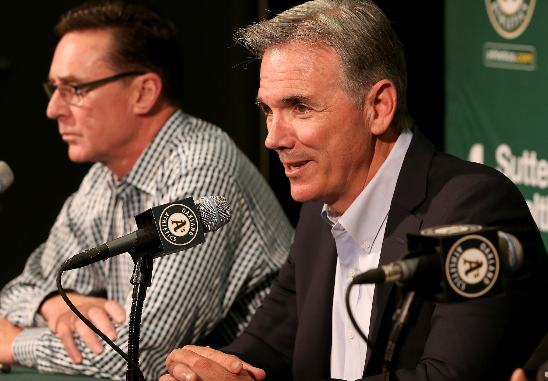 Billy Beane, Oakland A's