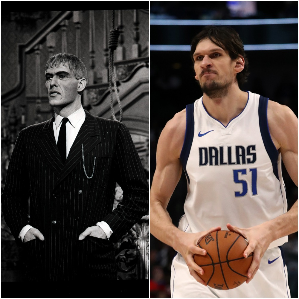 Boban Marjanovic Plays Lurch at Shaquille O'Neal's Request and It's Pure Hilarity