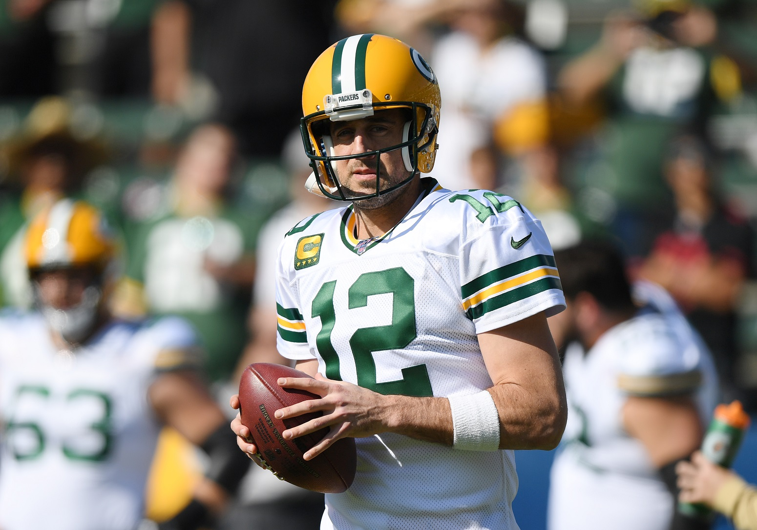 Aaron Rodgers Sends A Strong Message About Kneeling During The National Anthem