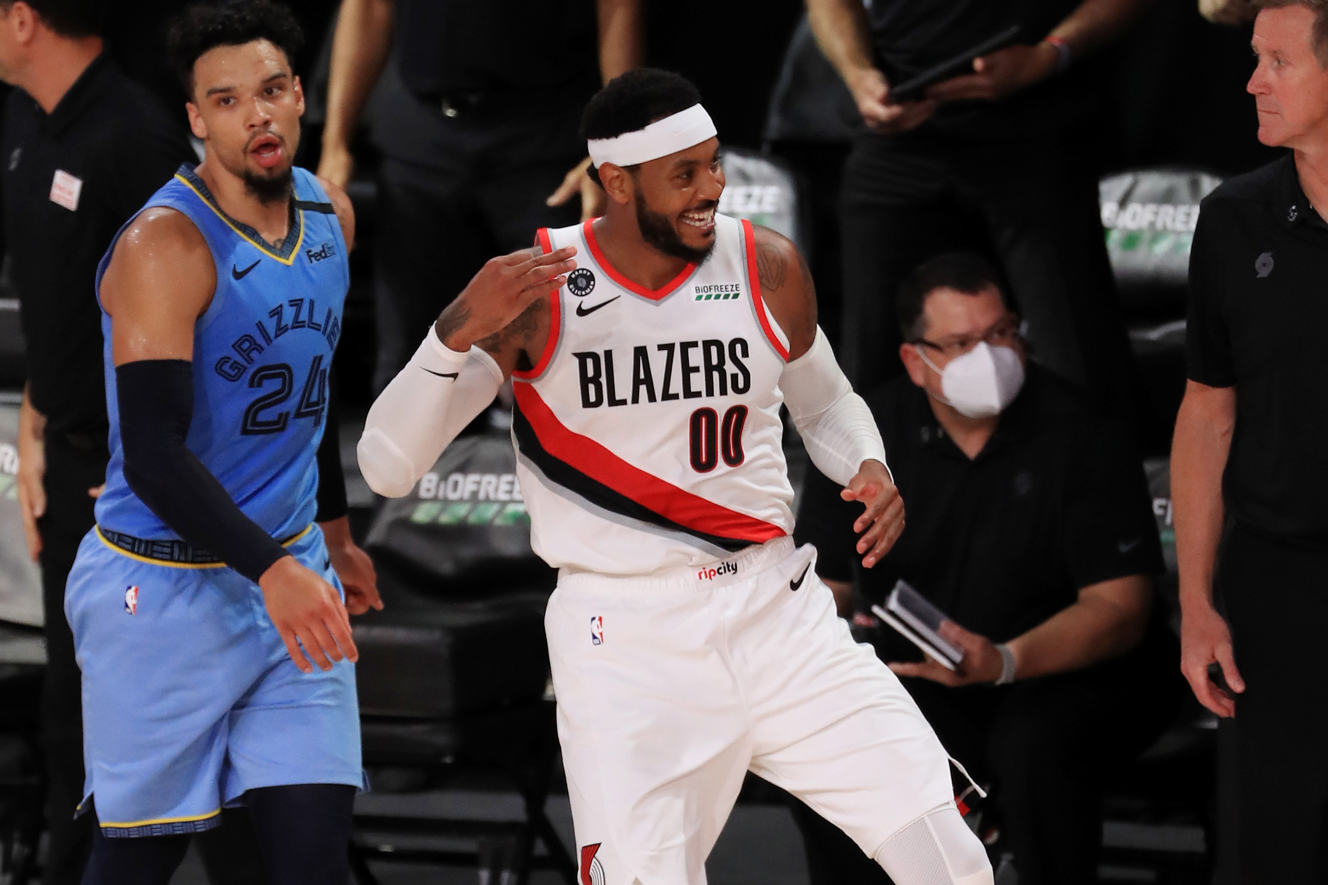 Portland Trail Blazers' Carmelo Anthony